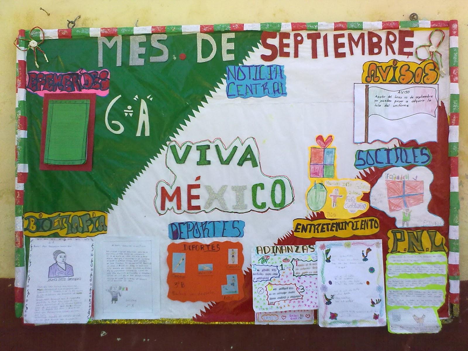 Peri dico mural mes septiembre 4 imagenes educativas for Deportes para el periodico mural