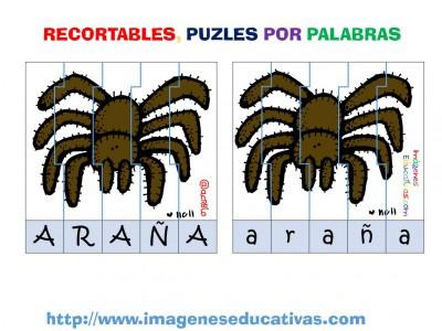 Puzle por letras animales (2)