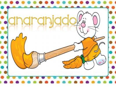 Tarjetas aprendemos los colores con en ratón Colorín (8)