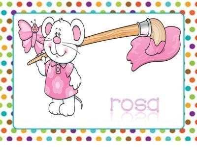 Tarjetas aprendemos los colores con en ratón Colorín (9)