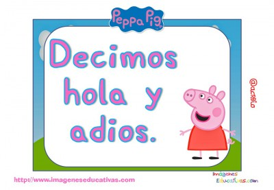 Tarjetas normas de clase Peppa Pig (2)
