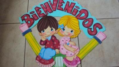 periódico mural del mes de Agosto Mural de Bienvenida (5)