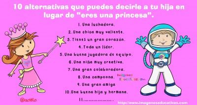 10 alternativas que puedes decirle a tu hija en lugar de princesa (1)