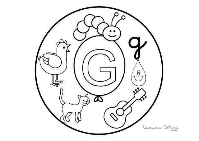 Abecedario mandalas para colorear (7) - Imagenes Educativas