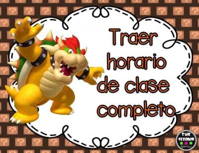 Acuerdos de Grupo. Motivos Mario Bros (4)