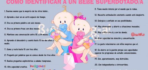 Como identificar a un bebe superdotado Portada