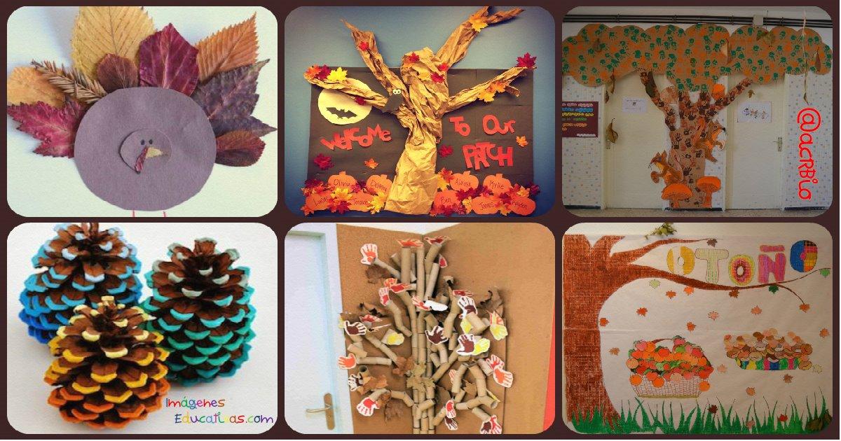 S per colecci n con decoraciones de oto o rincones for Decoraciones infantiles para ninos