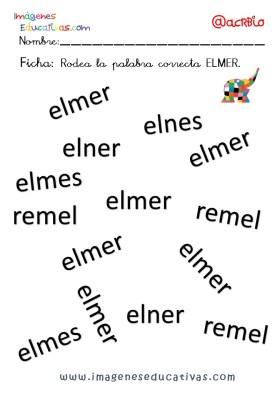 Elmer Elefante atención y grafo (14)