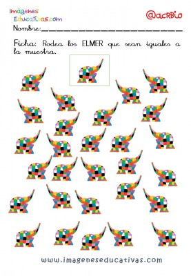 Elmer Elefante atención y grafo (15)