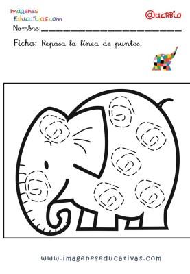 Elmer Elefante atención y grafo (22)