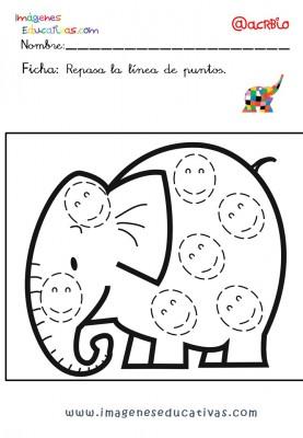 Elmer Elefante atención y grafo (26)