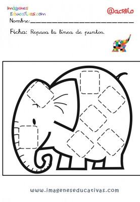 Elmer Elefante atención y grafo (27)