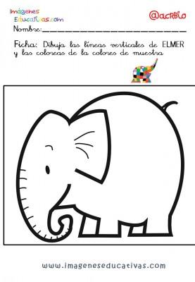 Elmer Elefante atención y grafo (29)