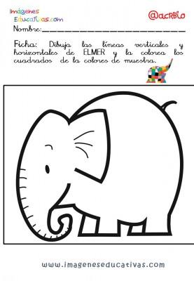 Elmer Elefante atención y grafo (30)