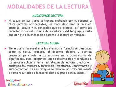 La lectura en la escuela, momentos estrategias y modalidades (2)