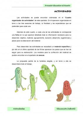 Nuestro proyecto educativo. El huerto escolar (2)