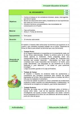 Nuestro proyecto educativo. El huerto escolar (8)