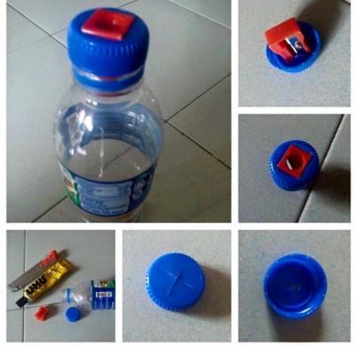 Reciclamos tapones de botellas (2)