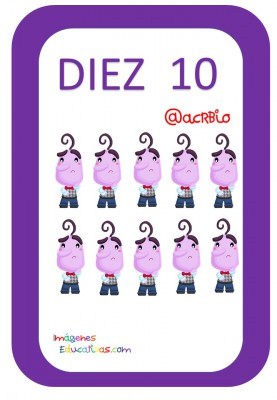 Tarjetas de Números Inside Out 1-20 (10)