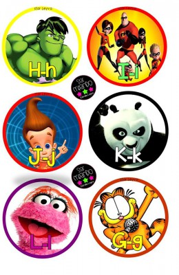 abecedario cartoon Star Creando (2)