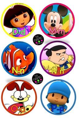 abecedario cartoon Star Creando (3)