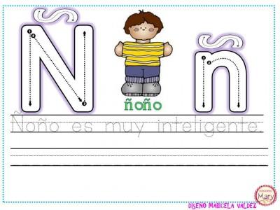ABECEDARIO aprendemos a escribir (17)