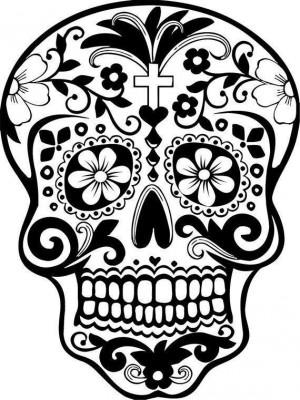 Dibujos para colorear el día de los muertos (28)