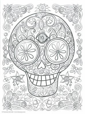 Dibujos para colorear el día de los muertos (45)