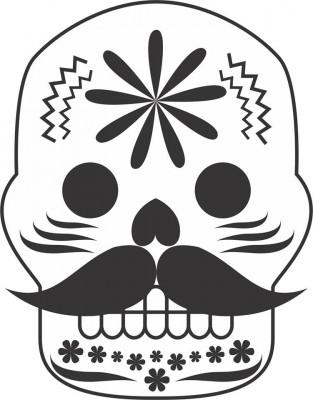 Dibujos para colorear el día de los muertos (46)