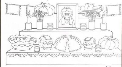 Dibujos para colorear el día de los muertos (52)