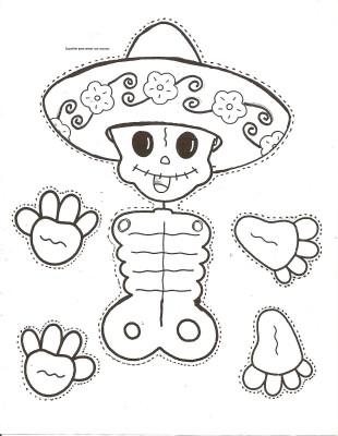 Dibujos para colorear el día de los muertos (63)