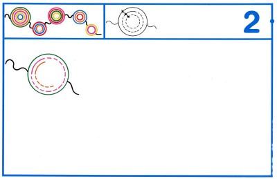 Fichas Grafomotricidad trabajamos la grafia de los números (14)