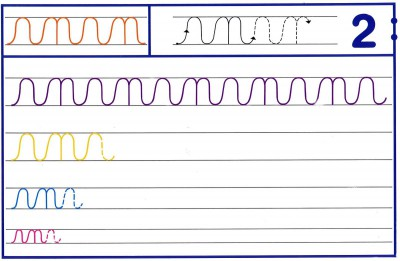 Fichas Grafomotricidad trabajamos la grafia de los números (17)