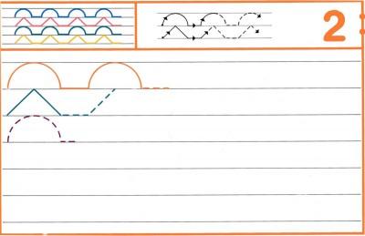 Fichas Grafomotricidad trabajamos la grafia de los números (19)