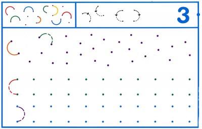 Fichas Grafomotricidad trabajamos la grafia de los números (24)
