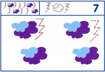 Fichas Grafomotricidad trabajamos la grafia de los números (64)