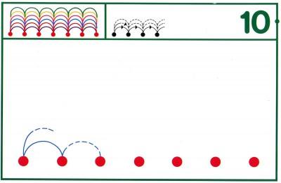 Fichas Grafomotricidad trabajamos la grafia de los números (86)