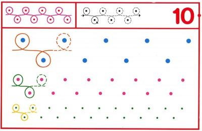 Fichas Grafomotricidad trabajamos la grafia de los números (87)