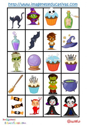 Lotería-Bingo de HALLOWEEN (7)