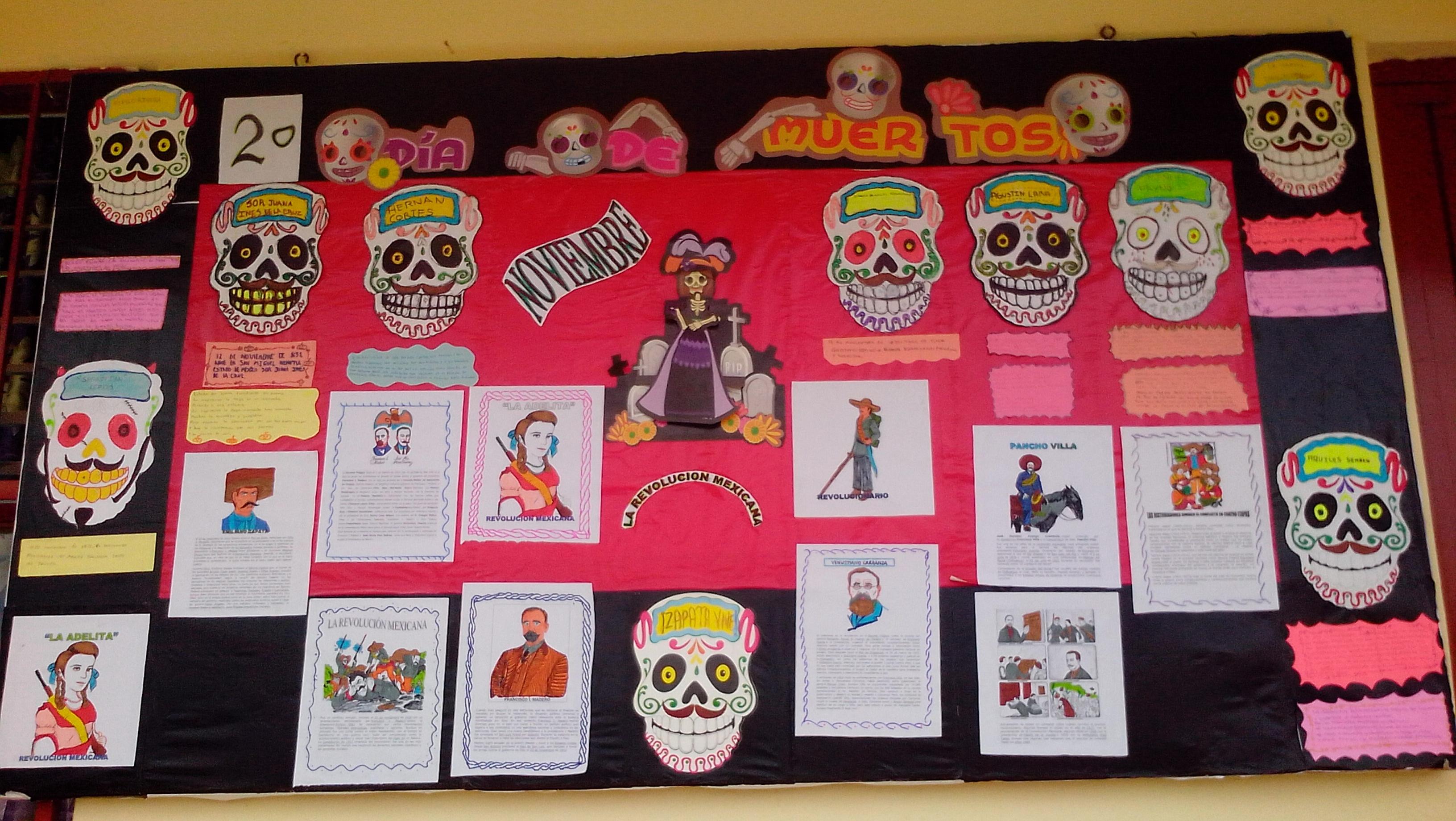Periodico mural noviembre 8 imagenes educativas for Diario mural en ingles