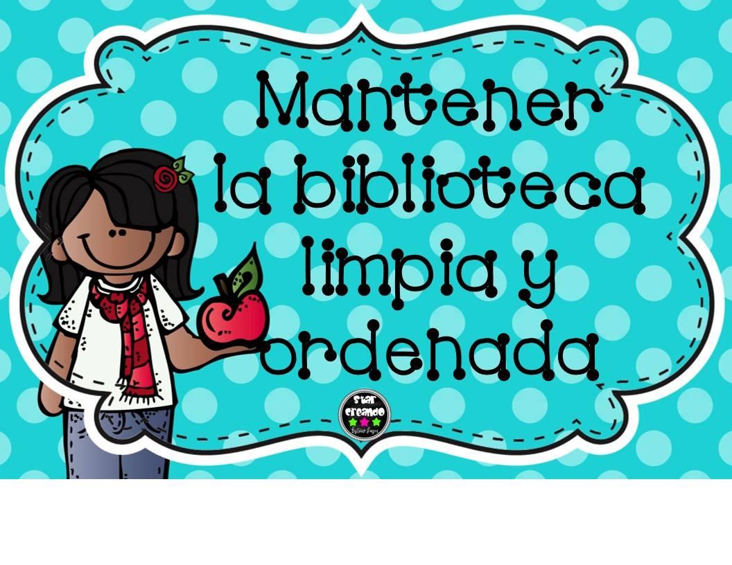 Imagenes Educativas Para Descargar: Reglamento Bliblioteca (5)