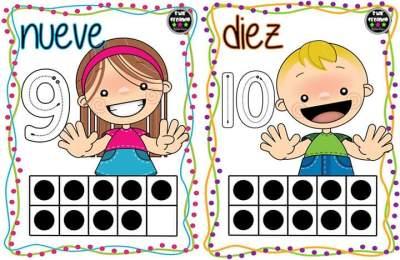 Repasamos los números del 1 al 10 (6)