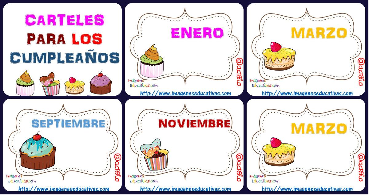 Carteles Y Tarjetas De Feliz Cumpleaños Para Colorear: Tarjetas Imprimibles: Plantillas Rincón Del Cumpleaños