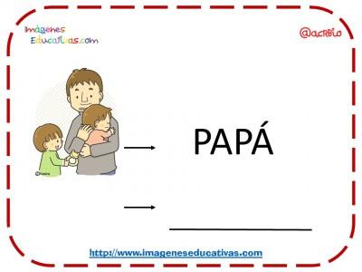 Vocabulario Temático centro de interés casa y familia (5)