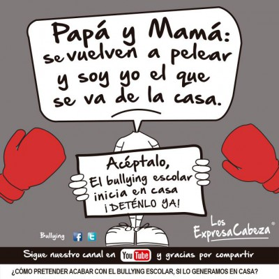 """bullying según """"los expresa Cabeza"""" (1)"""