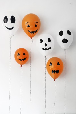 "ideas para decorar con globos para niños ""Halloween"" (26)"