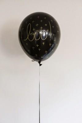 "ideas para decorar con globos para niños ""Halloween"" (8)"