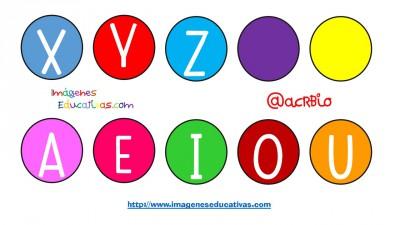 Abecedario diferentes formatos y tipos de letras (24)