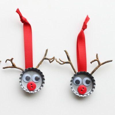 Adornos arbol de navidad manualidades diy (7)
