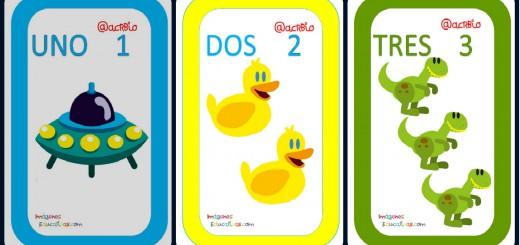 Cartas juguetes números Portada